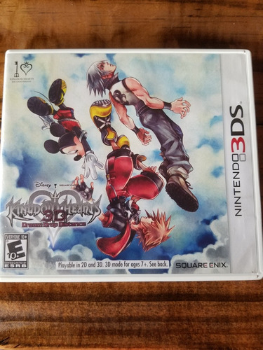 Juego Nintendo 3ds Kingdom Heart 3d Dream Drop Distance