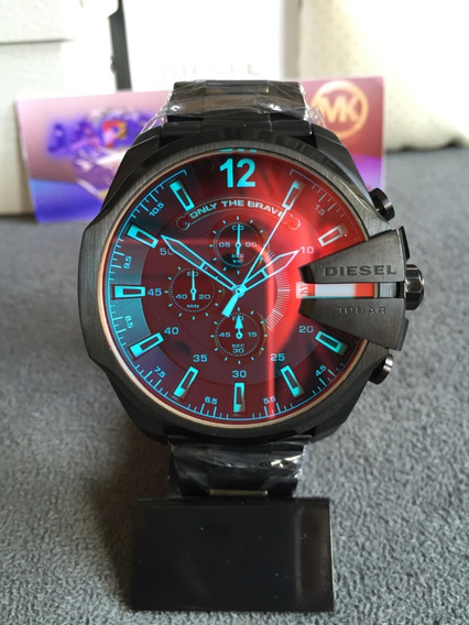 Relógio Diesel Dz4318 Preto Original Completo Com Caixa