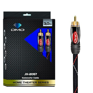 Diamond Cable Dmd Jx 2057 Cabo Coaxial Rca Para Subwoofer 3m