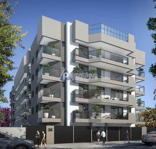 Apartamento À Venda, 2 Quartos, 1 Suíte, 1 Vaga, Maracanã - Rio De Janeiro/rj - 22965