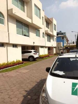 Casa Nueva En Condominio Horizontal Ex Hacienda Coapa