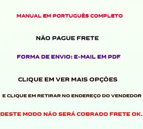Manual Em Português Da Filmadora Sony Nex-fs100