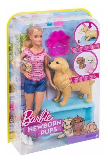 Barbie Filhotinhos Recém Nascidos Mattel