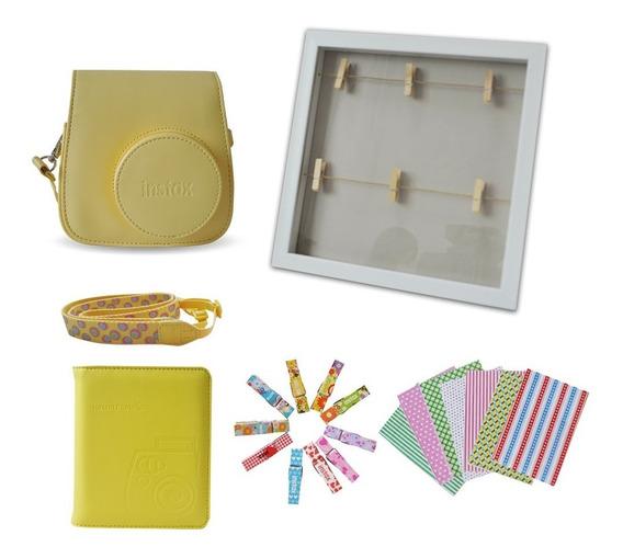 Paquete Accesorios Instax Mini 8 Amarillo