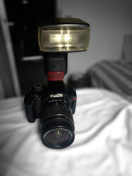 Canon T3 Com Lente 18-55mm Perfeita