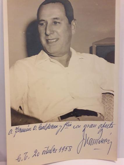 Fotografía Original De Perón