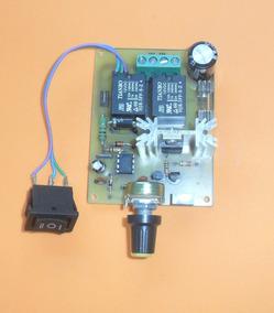 Placa Controladora Pwm Para Motor Dc 24v 10 A Com Inversão
