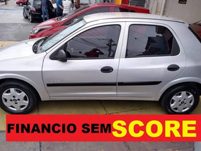 Chevrolet Celta Completo-ar Financie Com Score Baixo