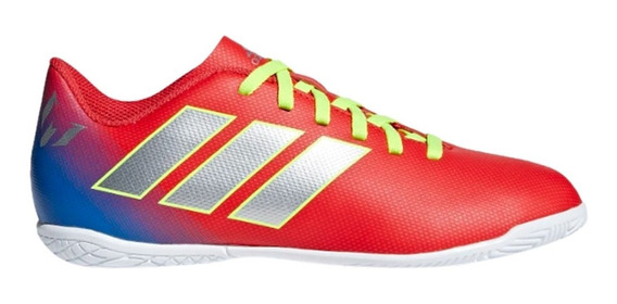 Chuteira Infantil Futsal adidas Nemeziz Messi 18.4 Jr