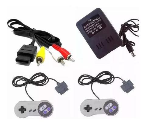 Kit De Acessórios Para Super Nintendo Snes Novo !