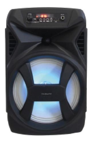 Parlante Portatil Flame Dw-8r3 Con Luces Daewoo