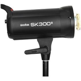 Flash P Estúdio Fotográfico Godox Sk 300 Ii Tocha 300w 220v