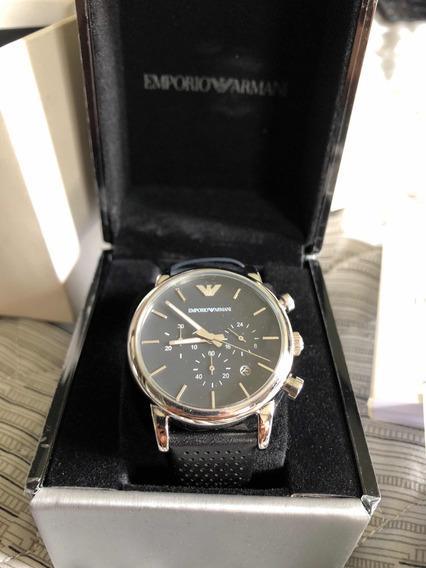 Relógio Empório Armani Cronógrafo Classic