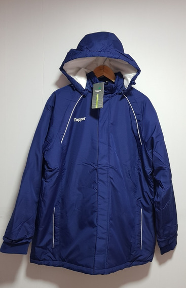 Jaqueta Casaco Topper Parka Training Basic Azul Original