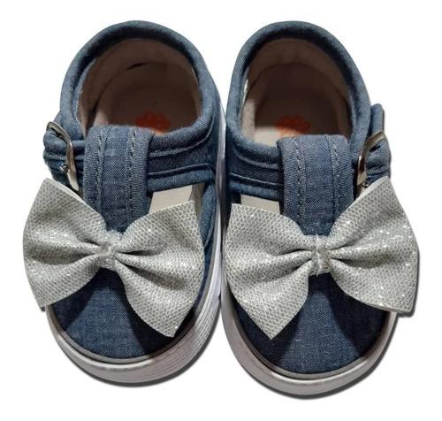 Zapatos Tenis Niña Bebes Huellitas