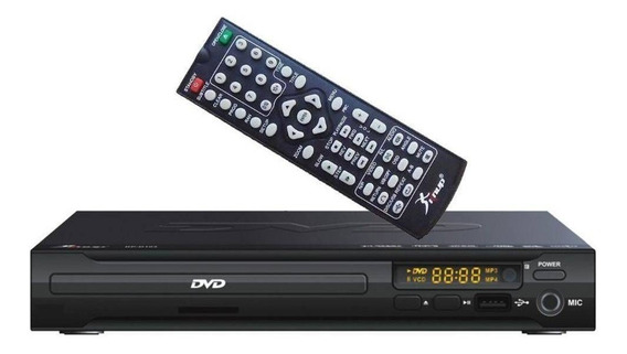 Dvd Player Com Entrada Usb Mp3 Karaokê Knup Kp-d103