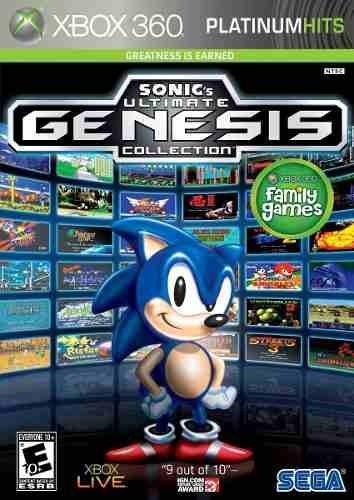 Sonics Ultimate Genesis Collection Xbox 360 Lacrado