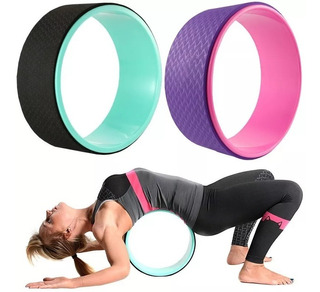 Yoga Wheel Aro Rueda Pilates 33cm Mat Accesorio Estiramiento