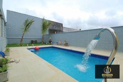 Casa Com 3 Dormitórios À Venda, 115 M² Por R$ 380.000,00 - Cibratel Ii - Itanhaém/sp - Ca1410