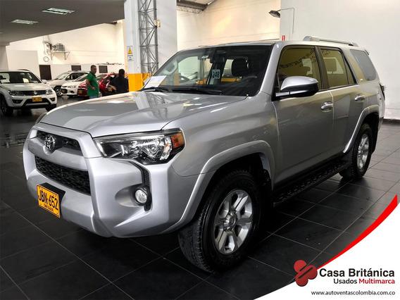 Toyota 4 Runner Sr5 Blindaje 2plus Automatica 4x4 Gasolina