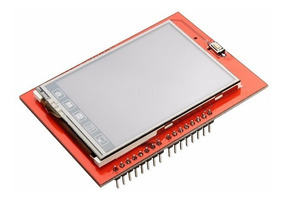 Display Lcd 2.4 Tft Touch Screen Shield Arduino