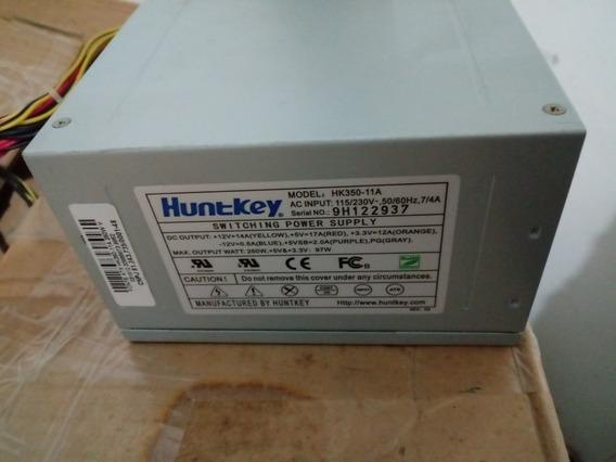 Fonte Atx Huntkey Hk350-11a 24 Pinos C/ Sata Automatica