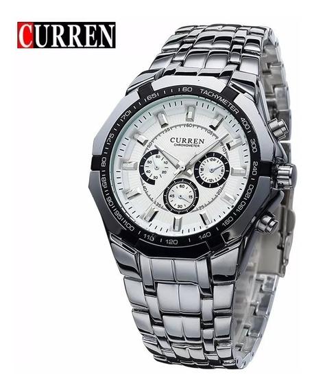 Relógio Masculino Curren Importado Barato Aço Inoxidável