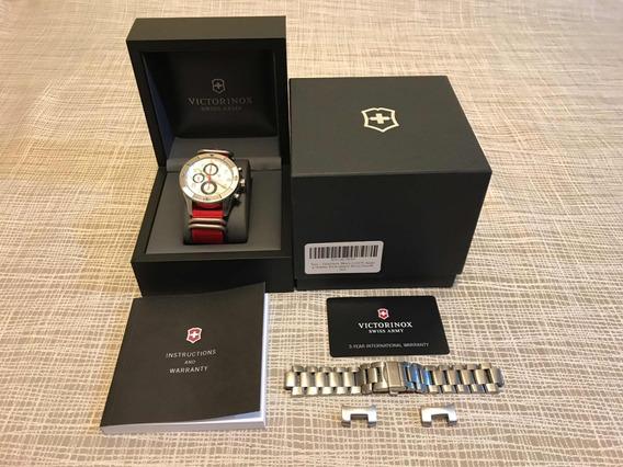 Reloj Victorinox Ambassador Clous De Paris Automático Crono