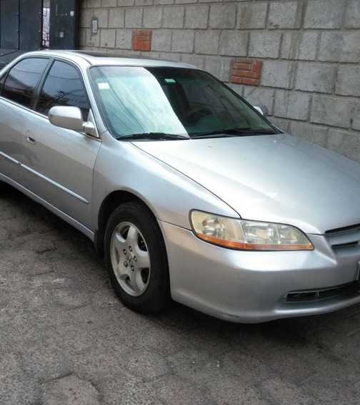 Honda Accord 1999 Ex Sedan Aut Piel Abs Q/c Ba 3.0 L V6 Vtec