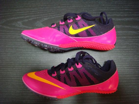 Zapatillas Spikes Clavos Atletismo Niños Nike 20 Cm