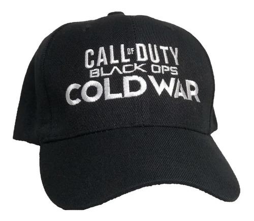 Gorra Call Of Duty Cold War Juego Niño Y Adulto Bordada