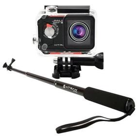 Câmera Esportiva Xtrax Evo + Bastão De Selfie Xtrax