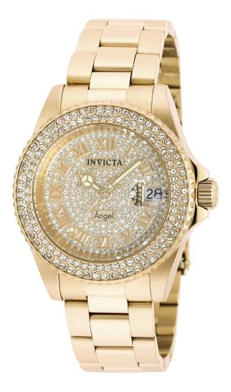 Relógio Invicta Feminino Angel 90255 Original 2 Ano Garantia