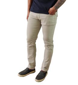 Kit Com 3 Calça Jeans Sarja Masculina Com Lycra Premium