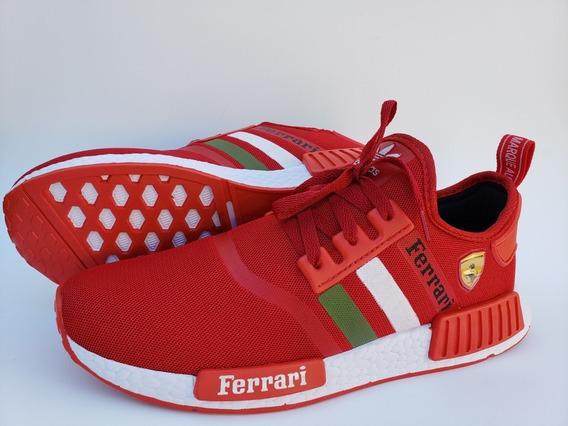 Tênis adidas Nmd R1 Ferrari+frete (leve Par De Meias Grátis)