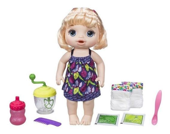 Boneca Baby Alive Papinha Divertida Loira - Hasbro E0586