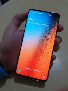 Samsung Galaxy S10+ S10 Plus 512gb 4g Original Detalhe