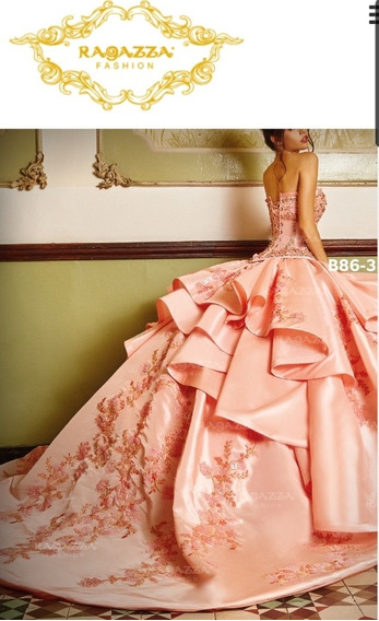 Vestido Quinceañera Marca Ragazza Mod. B86-396