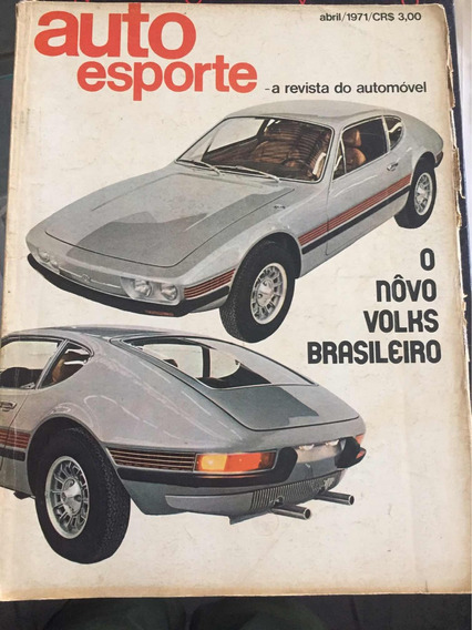 Revista Antiga Auto Esporte Antiga Rara