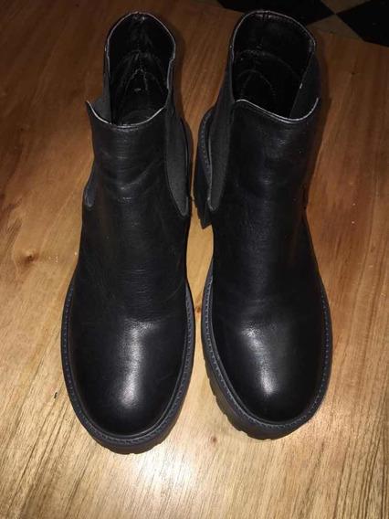 Zapatos / Botas Vía Uno Como Nuevos!!