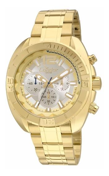 Relógio Condor Masculino Ritmo Covd54an/4k Dourado