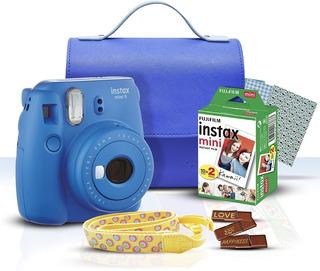 Fujifilm Instax Kit De Inicio Mini 9 Cobalto, Envio Gratis