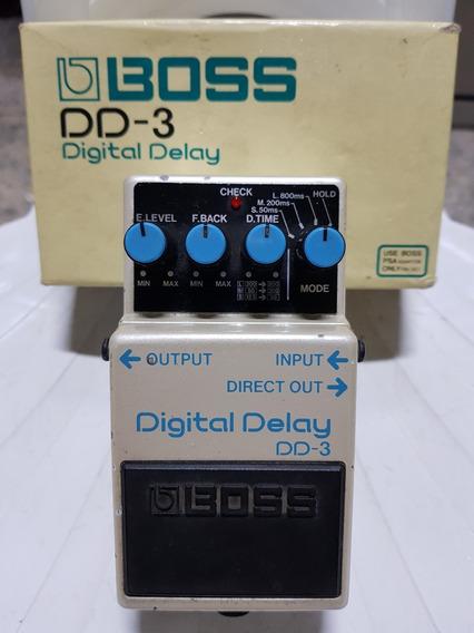 Pedal Boss Dd3 Digital Delay - Super Conservado!!!!!