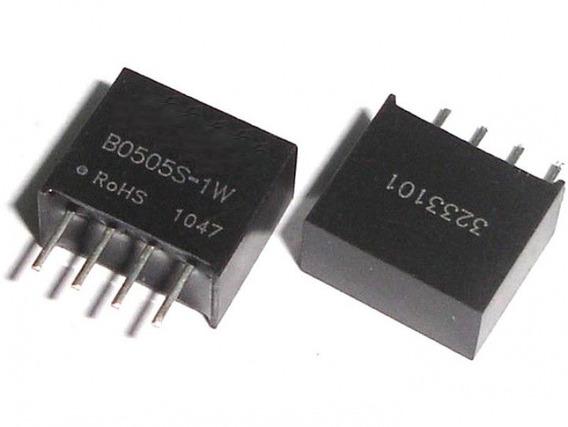 B0505s-1w Conversor Dc Dc Isolador Fonte 5v 1w Miniatura
