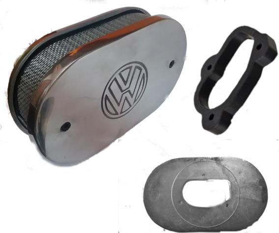 Filtro Esportivo Carburador Miniprogressivo - Ap Gol + Anel