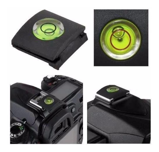 Kit Kt1 Protetor Capa E Nivelador De Dslr Canon Nikon