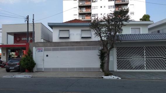 Casa Sobrado Para Uso Comercial Ou Residencial, Zona Mista!