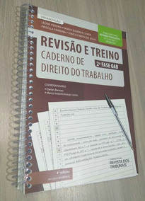 Caderno De Trabalho 2° Fase Revisão E Treino 4° Edição