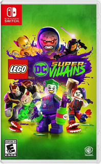 Lego Dc Super Villains - N Switch -juego Fisico - Stock