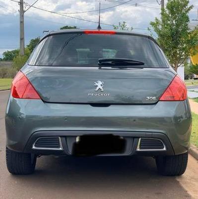 Peugeot 308 Top De Linha Feline 2.0 Flex Cinza Chumbo Lindo
